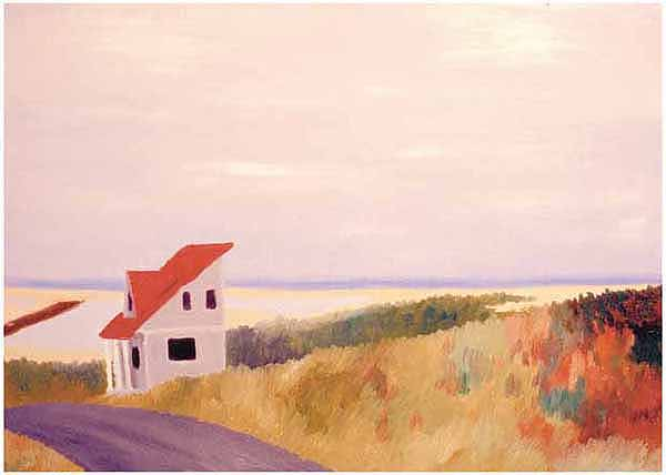 House in Provincetown Card