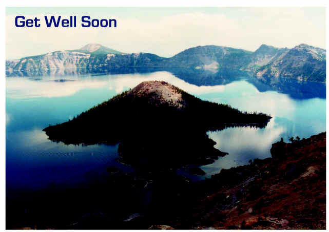 Crater Lake National Park Card